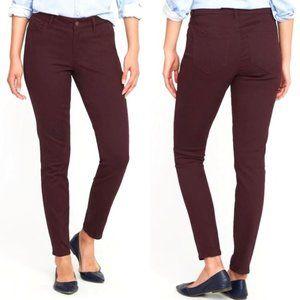 OLD NAVY Purple Rockstar Skinny Mid Rise Jeans
